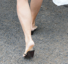 wife's legs and heels