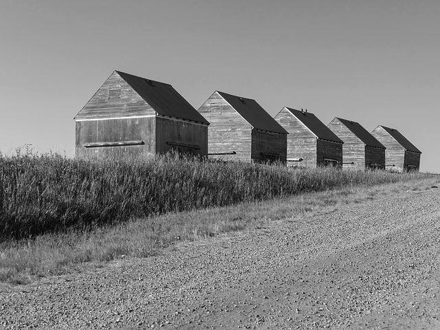 A popular row of old granaries