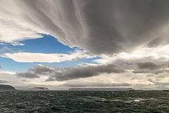 Ominous clouds over Breiðafjörður