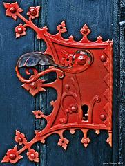 Feste Zons - Klinke am Portal der St-Martinus Kirche
