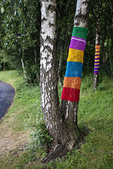 Yarn Bombing, Dumbarton Foreshore