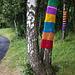 Yarn Bombing, Dumbarton Foreshore