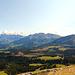 Panoramablick vom Weisshorn in östlicher Richtung (Notes)