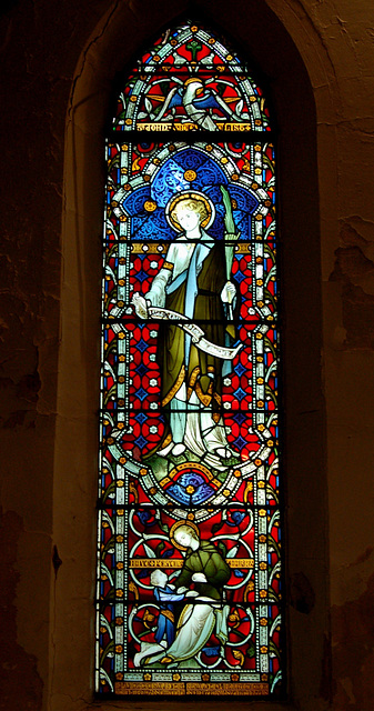 Nave Stained Glass, St Margaret's Church, Ward End, Birmingham