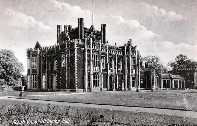 Hillington Hall, Norfolk (Demolished 1946)