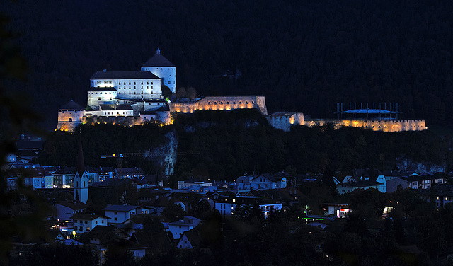 Kufstein Castle and City