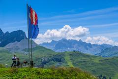 An der Widdersteinhütte  (180°)