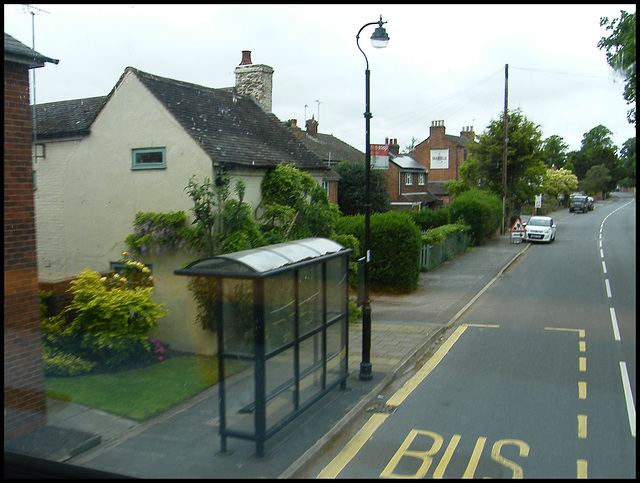 Barford bus stop