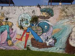"""""""Lusíadas"""" mural (VIII)."""
