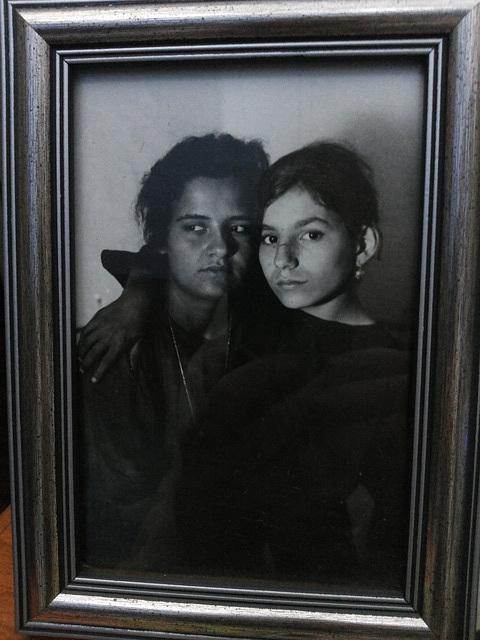 Zia Antonietta e mamma Zoraide.