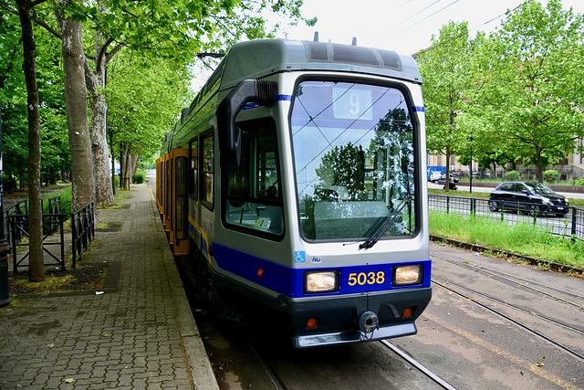 Turin 2017 – Tram 5038 on line 9