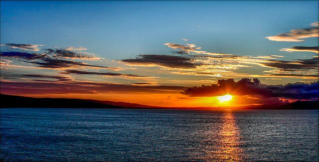 Dungarvan Bay, Co. Waterford, Ireland.