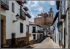Una calle de San Martín de Valdeiglesias