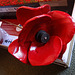 Remember~'Blood Swept Lands And Seas of Red' Poppy from the installation to commemorate the 100 years since World War 1