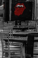 Hymne an die Stones oder Kommentar zum Restaurant? (© Buelipix)