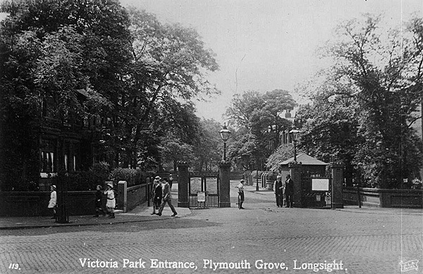 Toll gate posts, Victoria Park.