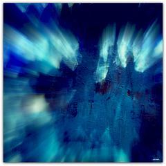 ...blue rays...