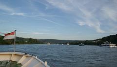 Schiffskorso bei Rhein in Flammen