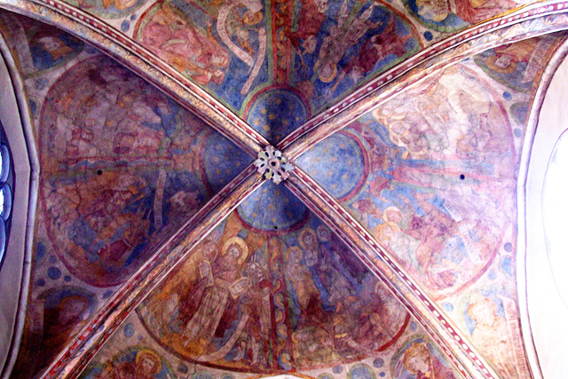 DE - Cologne - Frescos at St. Maria Lyskirchen
