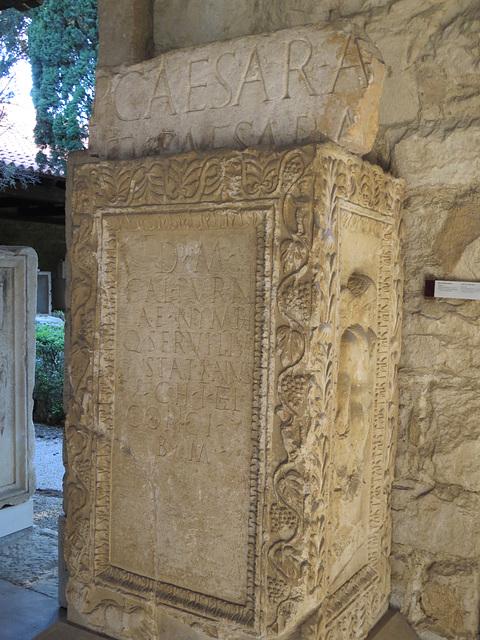 Musée archéologique de Split : CIL III, 8756.