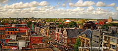 Roofs,Groningen Stad,the Netherlands,Europe
