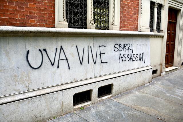 Turin 2017 – Uva vive, sbirri assassini