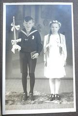 1941 - Meine Erstkommunion am 'Weißen Sonntag'