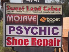 Psychic Shoe Repair?