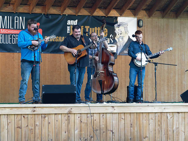 The Dave Adkins Band performed