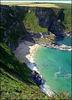 Fishing Cove, Nudist beach, Reskajeage, Cornwall (on enlarge - 'z' please)
