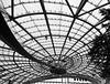 Salzburg Airport-Hangar 7: Dachkonstruktion.