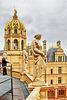 Auf dem Dach des Schweriner Schlosses