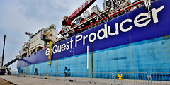 Enquest Producer. Oil storage/Production Vessel