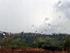i colori della Toscana sotto la pioggia