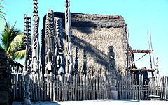 Reconstructed Hale o Keawe  ~  Pu'uhonua National Park