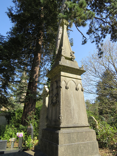 great northern cemetery, southgate, london