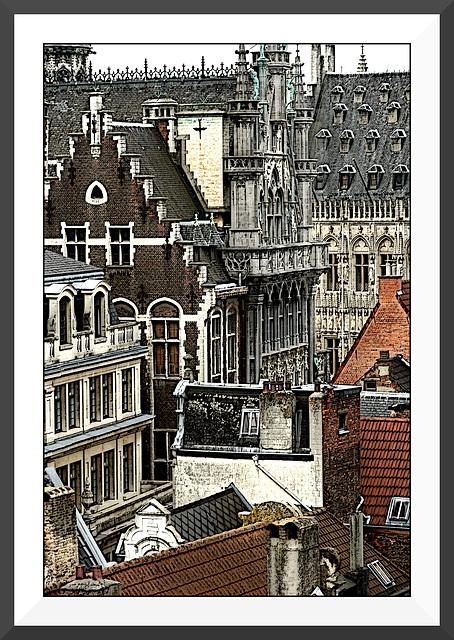 Les toits de Bruxelles II