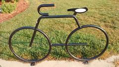 Vélo de lecture / Reader's bike