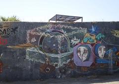 """""""Lusíadas"""" mural (XI)."""