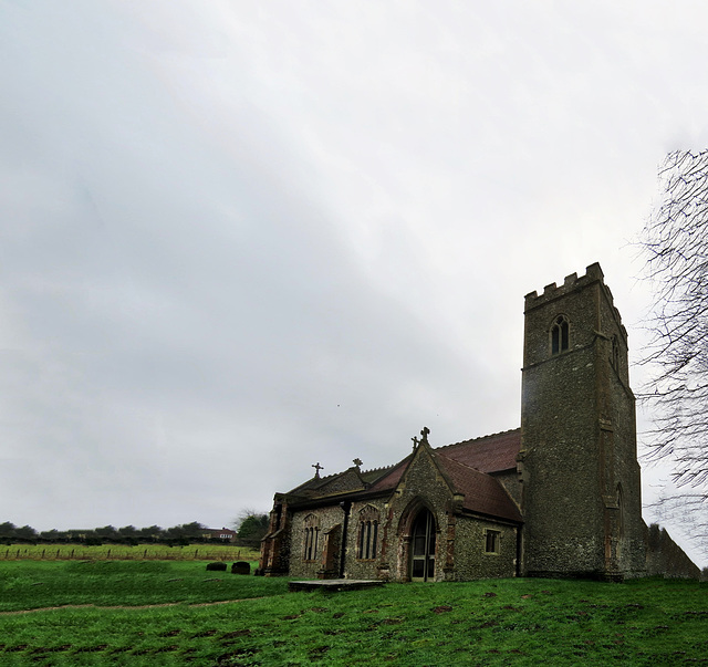 thursford church, norfolk