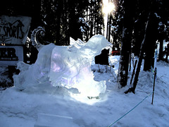 2019 ice carving competition 3