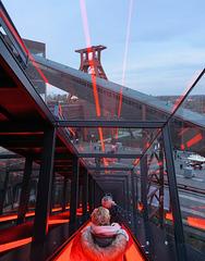 Zollverein, Rolltreppe am Museum