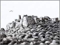 Ruines du Château de Chusclan