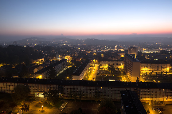 BELFORT: Vue panoramique de la ville