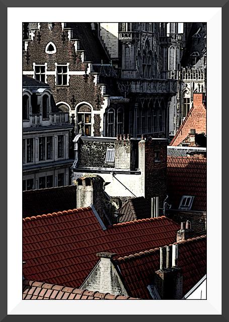 Les toits de Bruxelles III