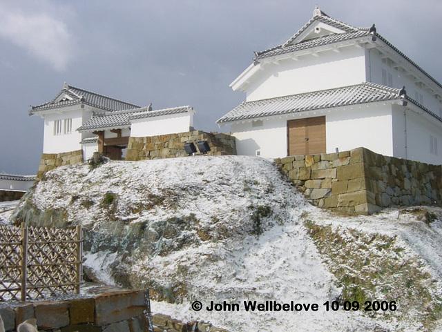 Amakusa - Tomioka Castle tower reconstruction Shape  Diamond Wk 9