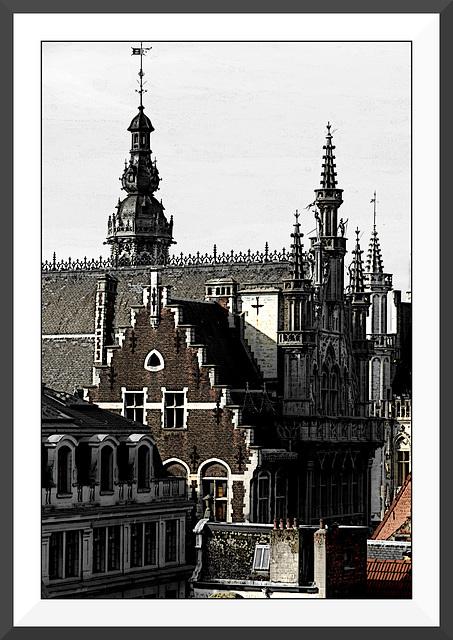 Les toits de Bruxelles IV