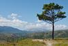 Rhodes, View from Ancient Kamiros to Mount Attaviros