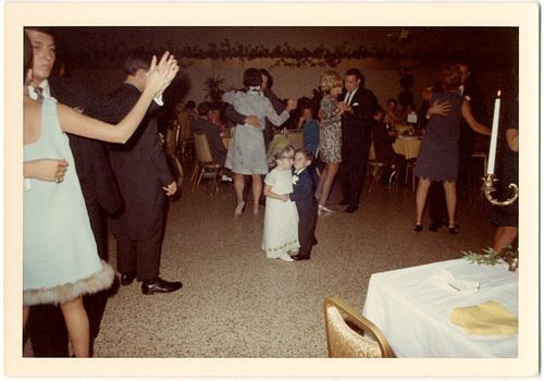Dance of the Ring Bearer and Flower Girl, Sept. 1968