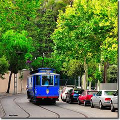 Tramvia Blau - Av. Tibidabo - Barcelona
